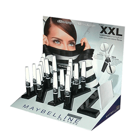Thermoformed Pop Up Display for Cosmetic Company