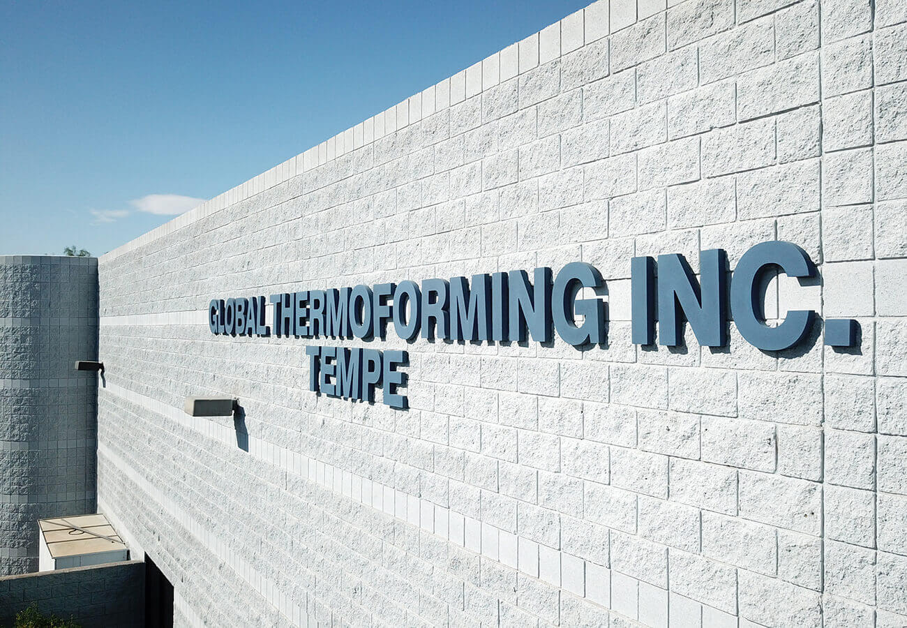 Exterior Picture of Global Thermoforming Headquarters in Tempe, AZ