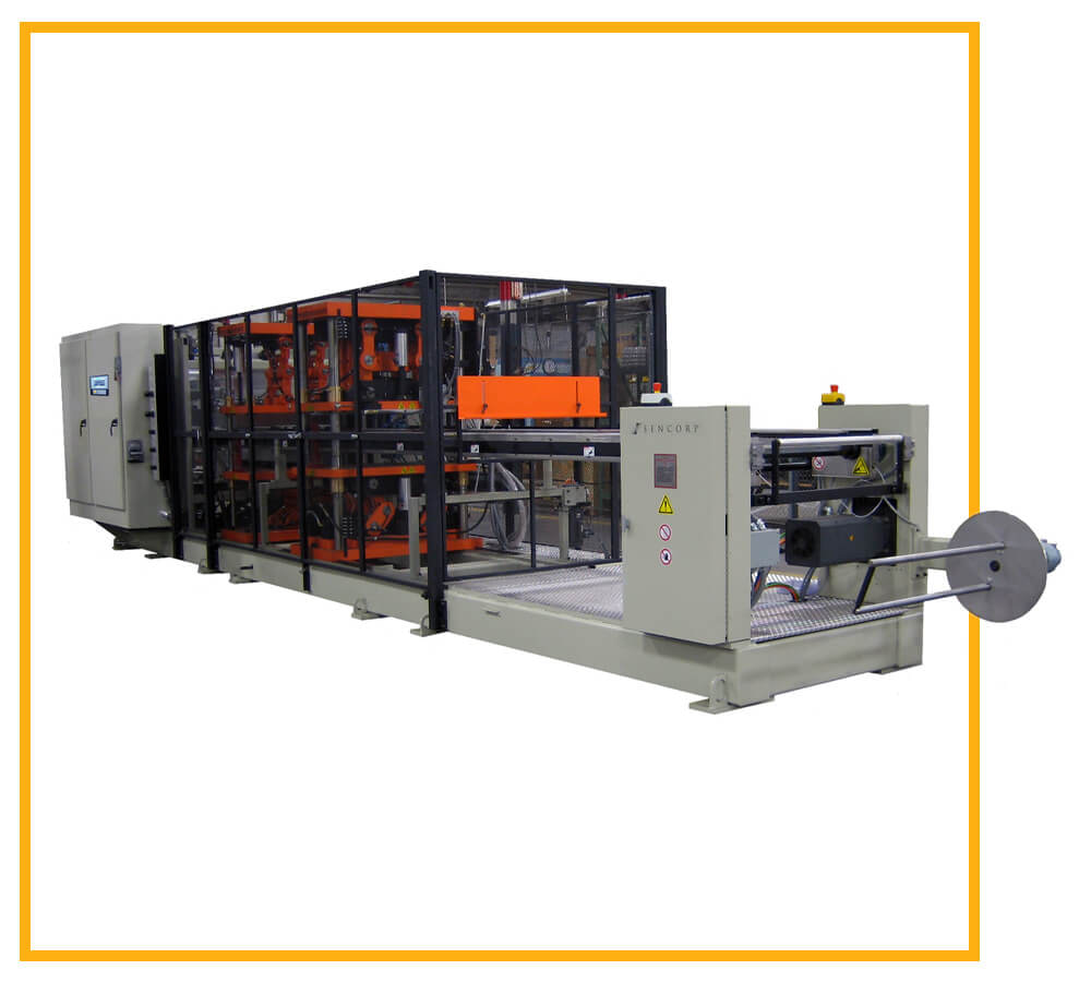 In-line, Roll-fed Thermoforming Machine