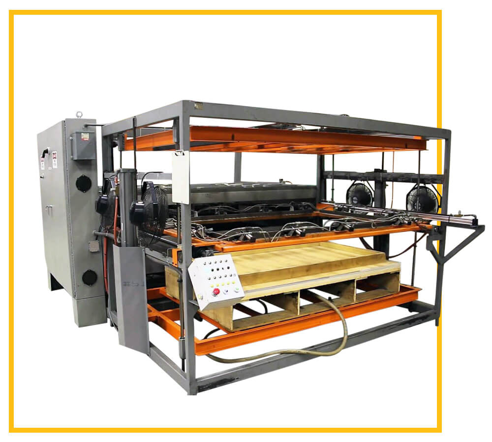 Shuttle Thermoforming Machine