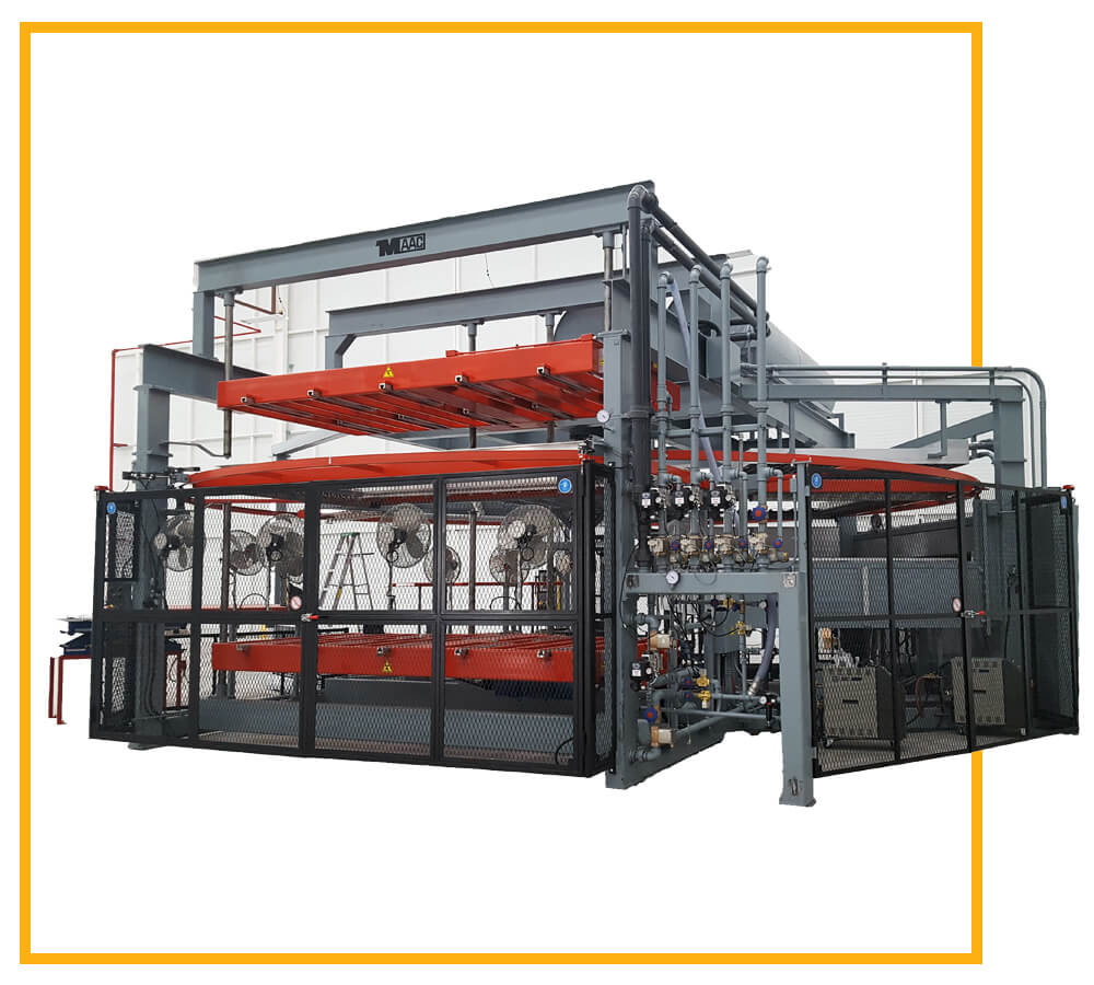 Rotary Thermoforming Machine